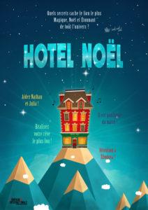 L'affiche du spectacle Hôtel Noël